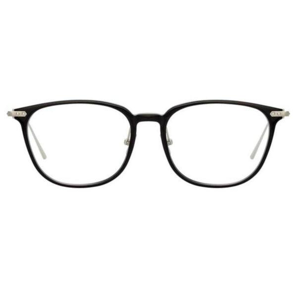 Oprawy okularowe Wright czarny złoto metal model