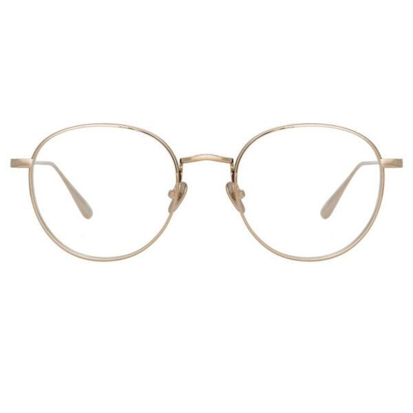 Oprawy okularowe Luna platyna złoto metal model