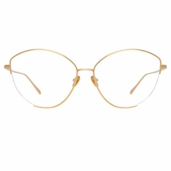 Oprawy okularowe Ella platyna złoto metal model