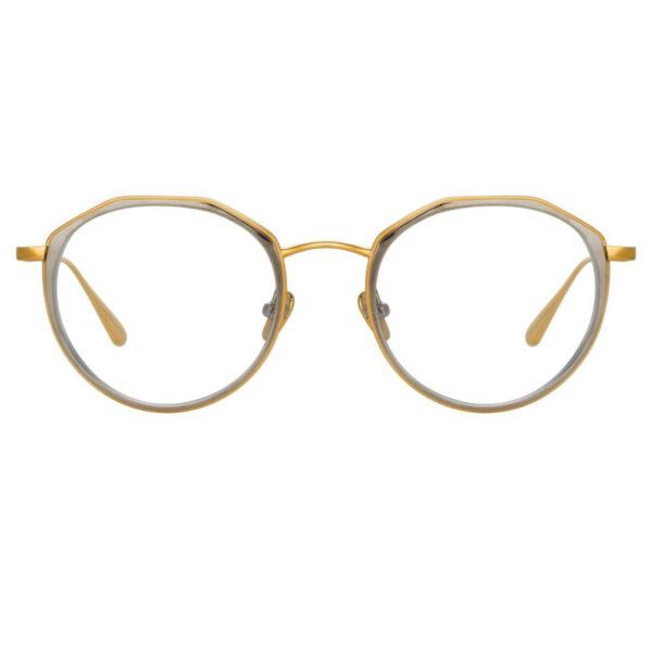 Oprawy okularowe Cesar platyna złoto metal model