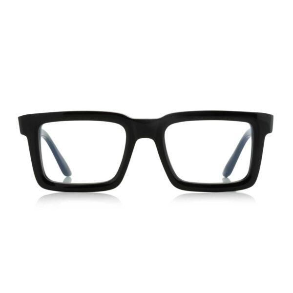 Oprawy okularowe Harry czarne prostokątne acetat tworzywo model