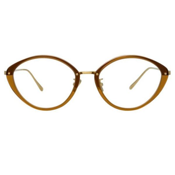 Oprawy okularowe Lucy złoto metal model