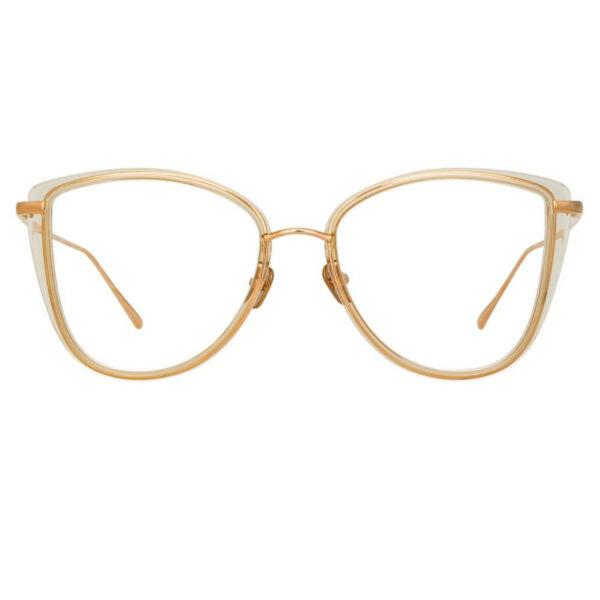 Oprawy okularowe Liza złoto metal model
