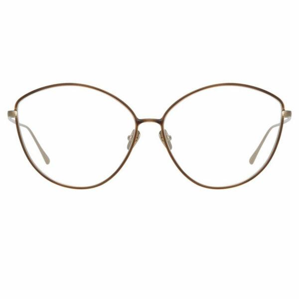 Oprawy okularowe Francis złoto metal model