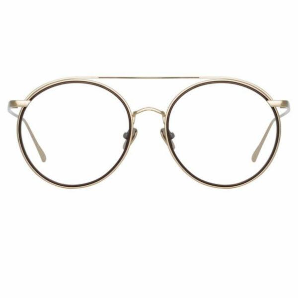 Oprawy okularowe Corey złoto metal model